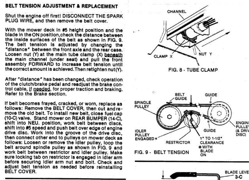 Snapper Mower Belt Replacement