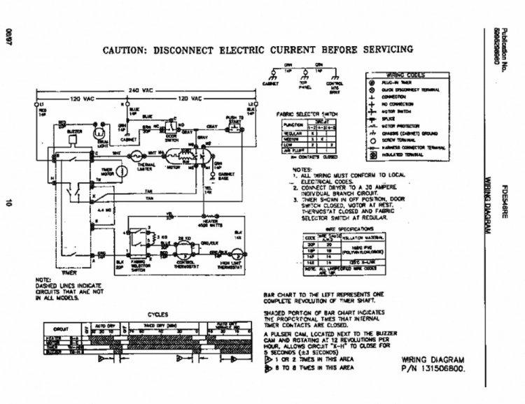 Wiring Diagram For Door Switch On Dryer