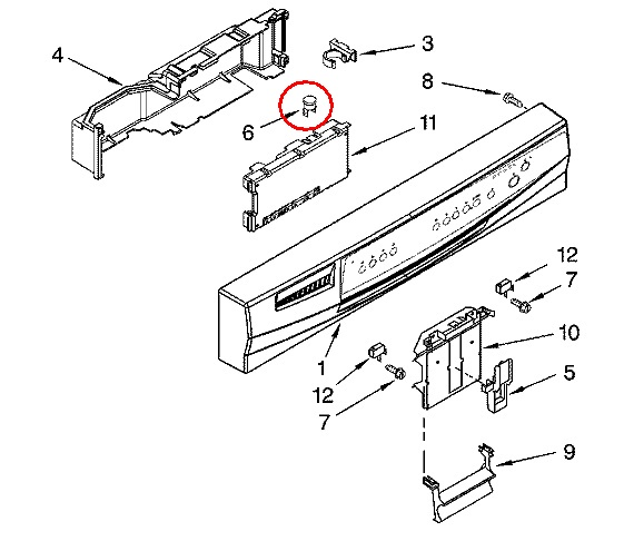 kenmore elite dishwasher model   665 1375