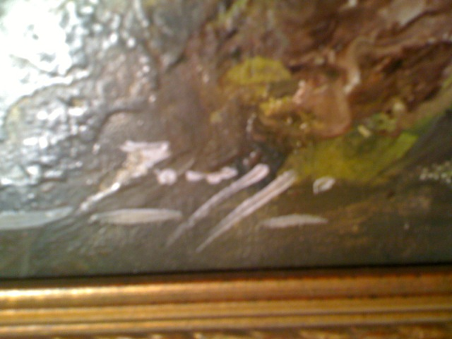 can someone help to identify an artist signature