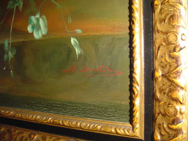 A Smith Oil Painting Identification