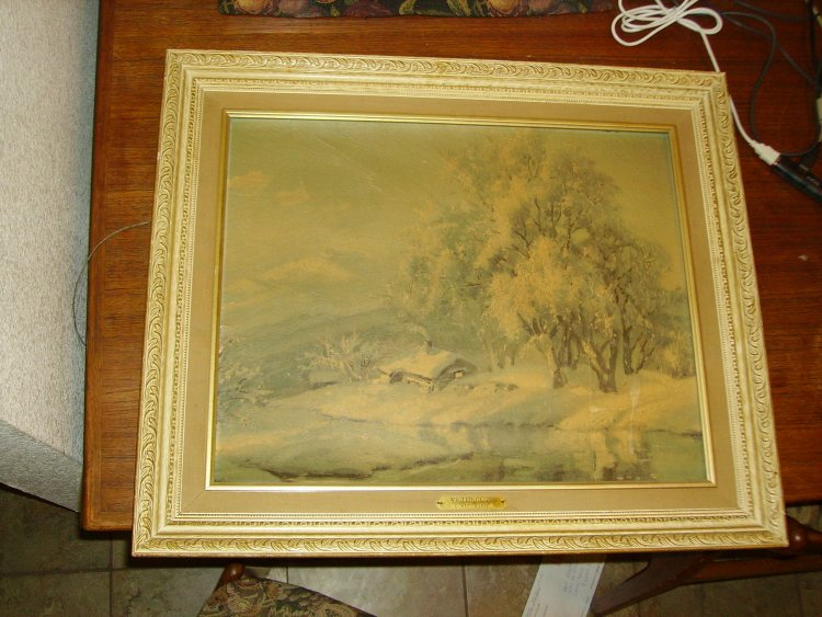 Is My C Westchiloff Painting Authentic