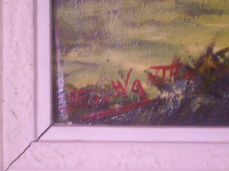 help identify artist signature