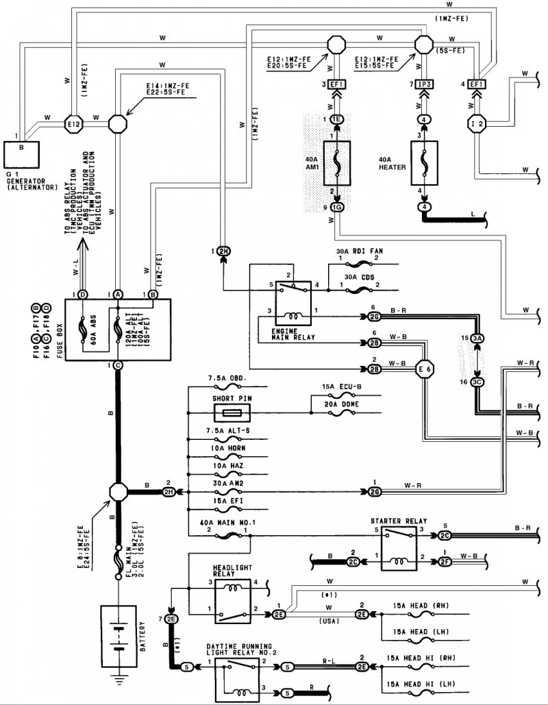 95 camry wiring diagram 95 camry engine diagram