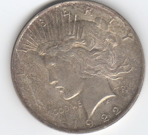 1922 S Liberty Silver Dollar Value Chart For Sale