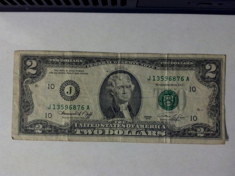 2 dollar bill value 1976 e series - Bary achy lagty hain drama