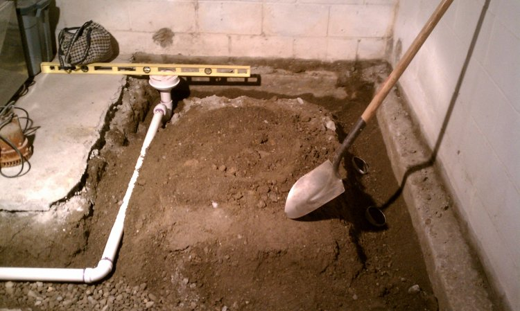 Pouring concrete in my basement for Concrete basement construction