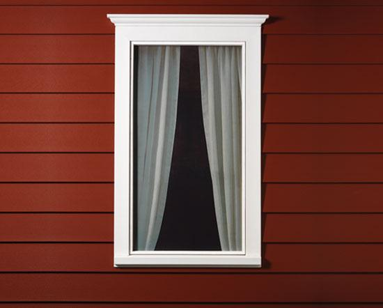 Window trim plans for Best new construction vinyl windows