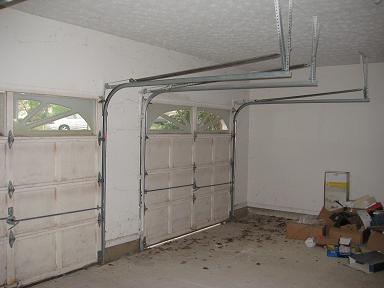 Convert 2 Garage Doors Into One