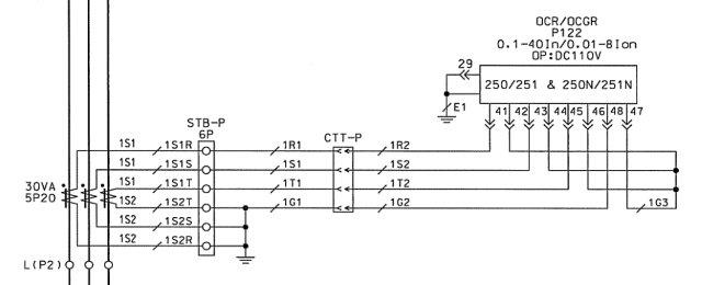 Terminal Block Wiring Diagram : Ct shorting block wiring diagram