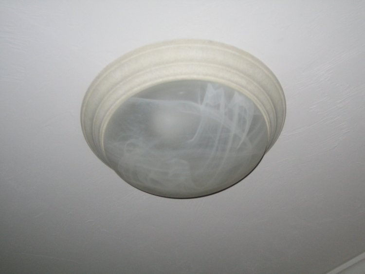 how to open a dome fixture