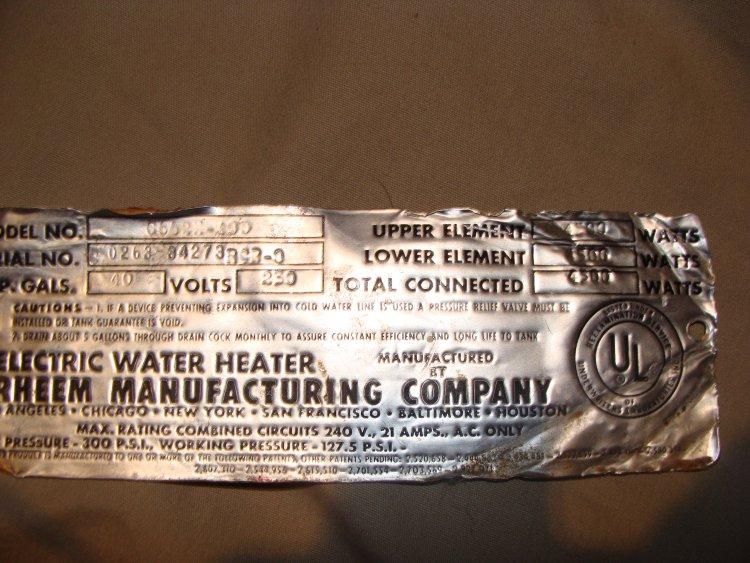 rheem water heater lighting instructions