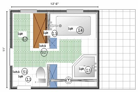 D Bathroom Wiring Diagram Selective Coverage on Light Switch Home Wiring Diagram