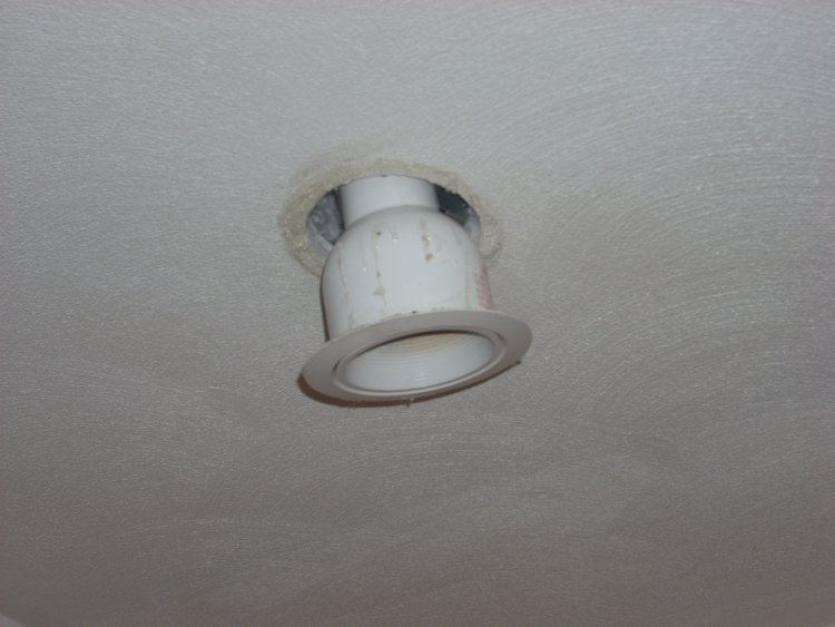 How Do We Fix Our Problem With Recessed Lights Falling Out