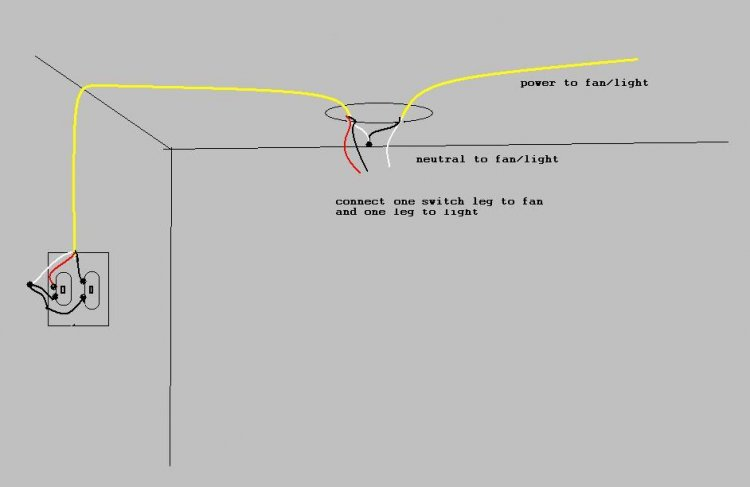 Wiring a bathroom fan with timer - Help Wiring Bathroom