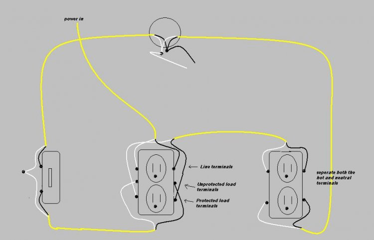 wiring diagram for half hot outlet wiring image how to wire a half hot switched outlet wiring diagrams on wiring diagram for half hot