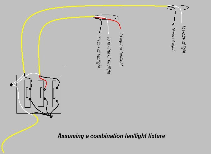 wiring outlets and lights on same circuit wiring switches