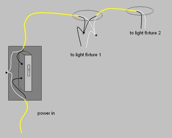 single switch 2 lights diagram single get free image about wiring diagram