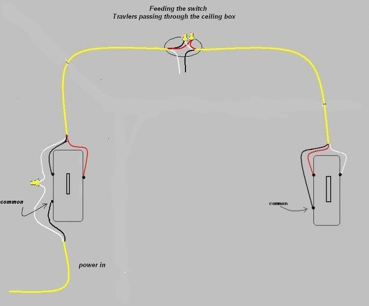 wiring diagram 2 lights gang switches with Way Switch Wiring One Two on Connecting A Double Switch To 2 Seperate Lights in addition 3way Switch Wiring Using Nm Cable moreover howtowireit   wiringa3wayswitch as well 3 Way Light Twist 71407 as well Can Lights To A 3 Way Switch Wiring.