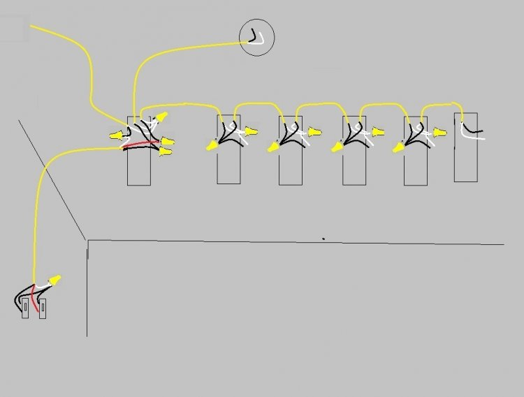 Amazing wiring lights in series vignette electrical circuit multiple fluorescent light wiring diagram wiring diagrams image asfbconference2016 Image collections
