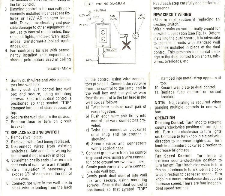 S M C Ceiling Fan Schematics - Technical Diagrams Wiring A Ceiling Fan on
