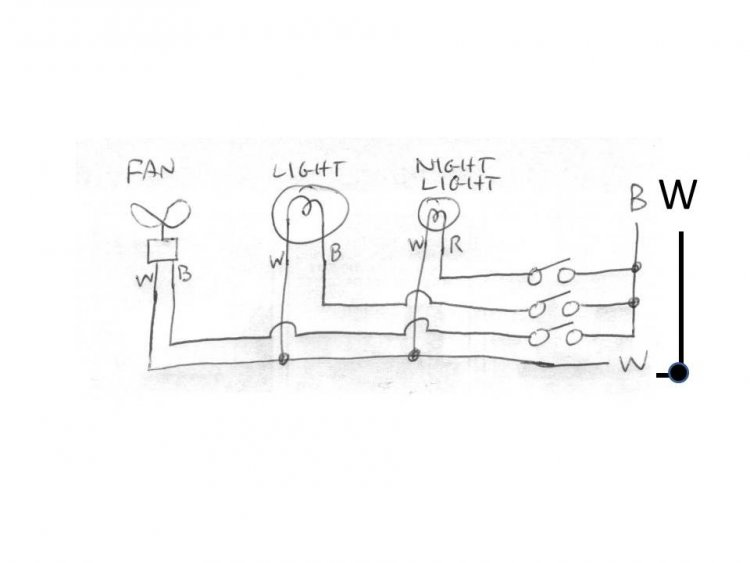 how to wire 3 light switches with one power supply