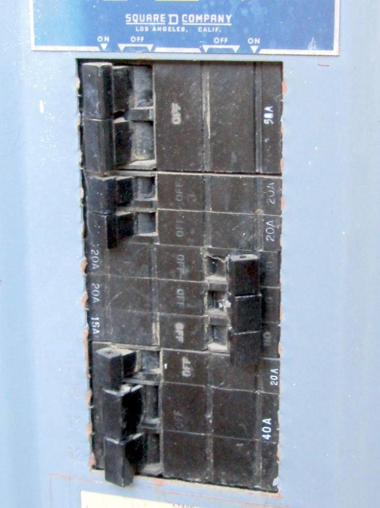 Home Main Breaker Panel