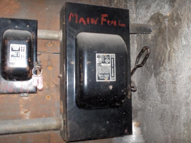 house fuse box