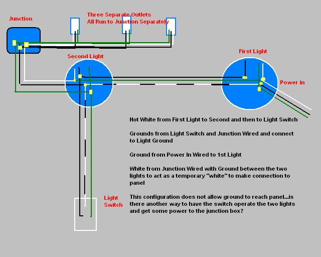With Then First Light Switch Wiring Diagram - DIY Enthusiasts Wiring ...