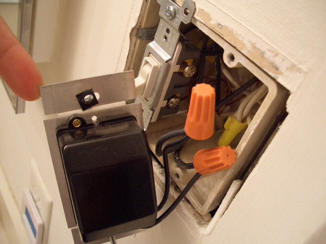 Bathroom Vanity Light Installation Electrical : Installing bathroom vanity dimmer switch (PICS)