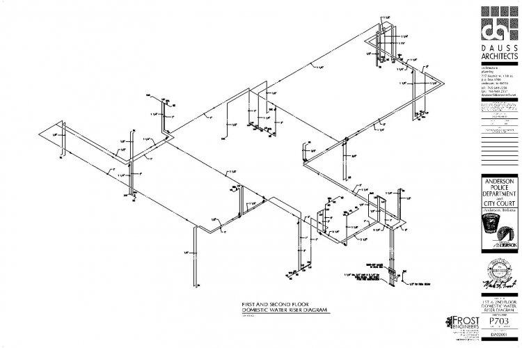 Plumbing Riser Diagram Details - Schematic Diagrams