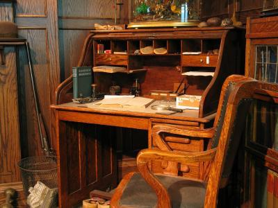 Can Anyone Help Identify This Antique Roll Top Desk