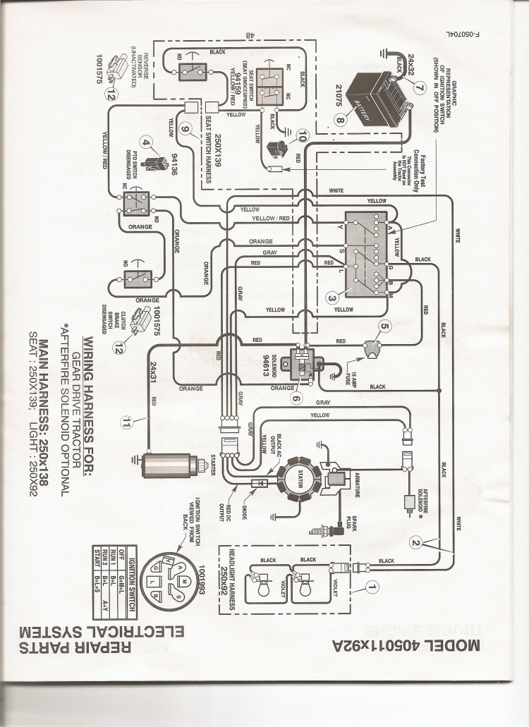 21847 wiring diagram 405011x92a john deere lt 130 wiring diagram wiring diagram and schematic design john deere 165 lawn tractor wiring diagram at fashall.co