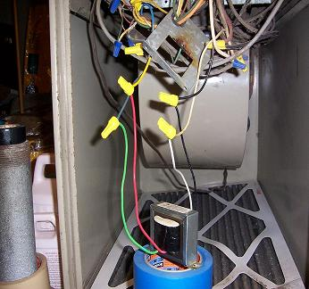 Wiring Power Transformer To Furnace