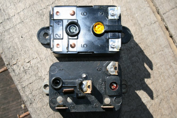 Replacing Fan Motor Relay Switch With Upgraded Switch