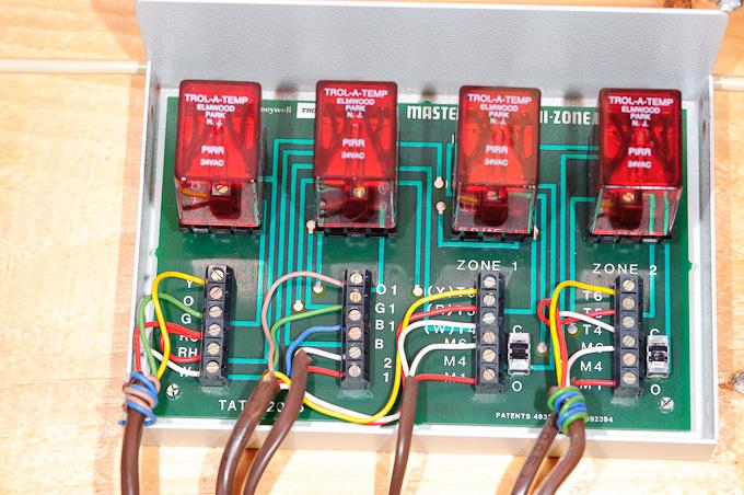 Wiring A Thermostat Visionpro Th8000 Th8110u1003