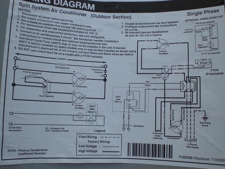 Wiring Diagram Additionally Ac Dual Run Capacitor Wiring Diagram