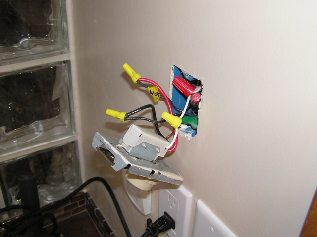 Thermostat hook up furnace