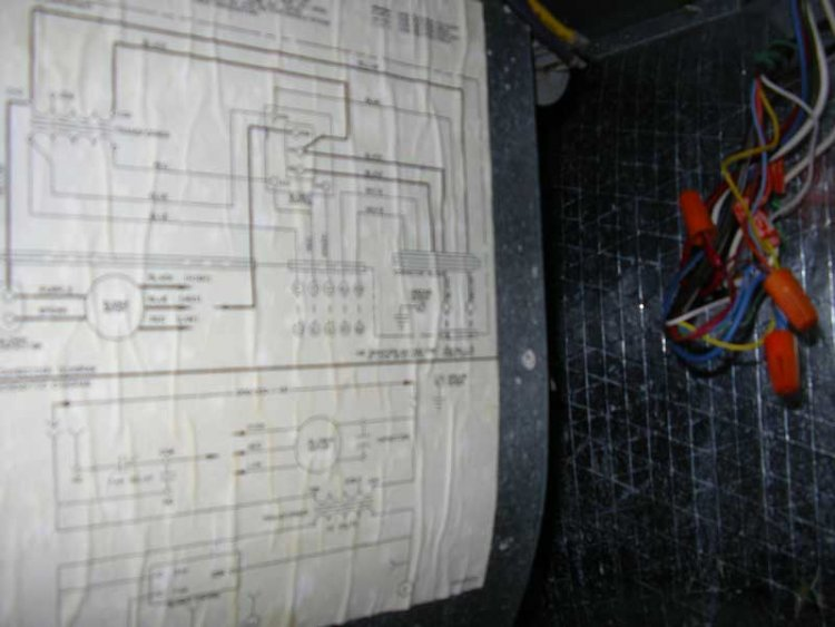 air handler blower won t start hum from transformer attached images