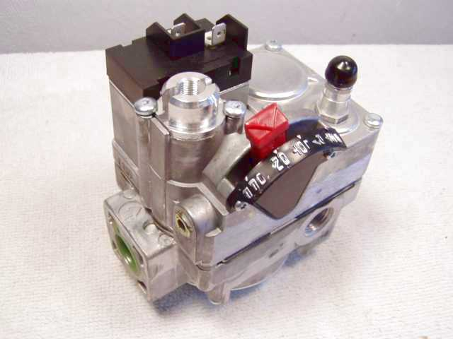 Model 36c03 Gas Valve Connections