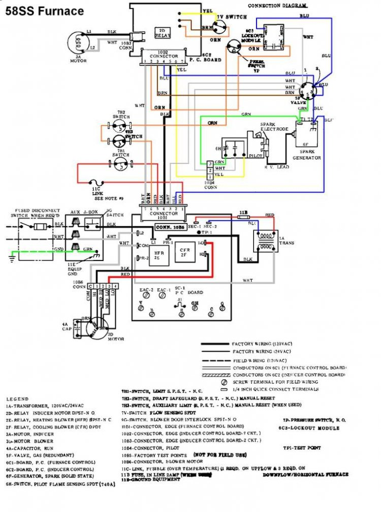 27063d1259762437 spark ignitor keeps clicking while furnace carrier58ss wiring diagram for carrier furnace readingrat net carrier furnace wiring diagram at webbmarketing.co
