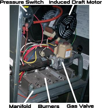 Trane xl90 manual reset