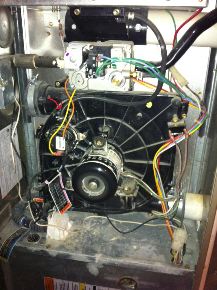 Carrier Gas Furnace Pressure Switch Problems Model 58mca