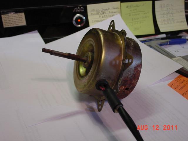 condenser motor replacement