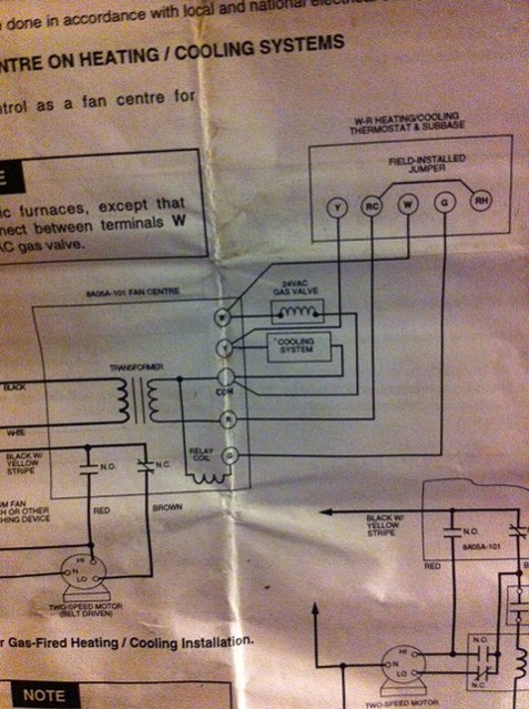 Wiring A Honeywell Rth2310 Thermostat