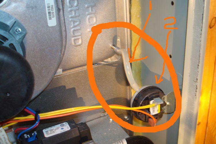 trane xb80 furnace not working