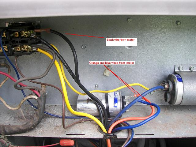 ac start relay wiring diagram ac fan start cap wiring