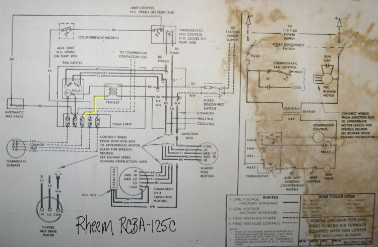 schematic for rheem criterion gas furnace rheem furnace manuals elsavadorla