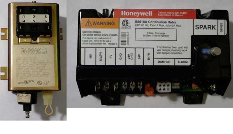 wiring changes johnson controls g600ax 1 honeywell s8610u attached images