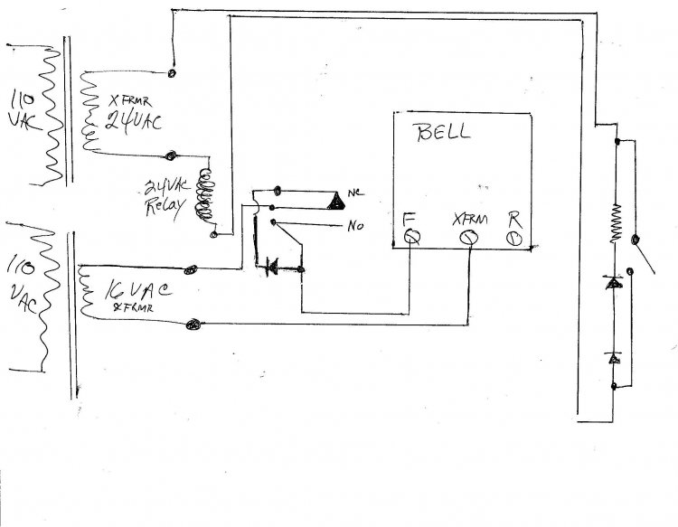 second to wire doorbell wiring diagram  second  free